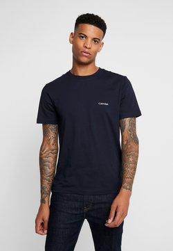 Calvin Klein - CHEST LOGO - T-Shirt basic - calvin navy