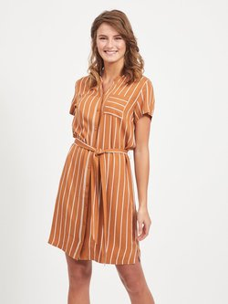 Object - Vestido camisero - sugar almond