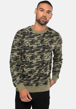 Threadbare - STANLEY - Sweater - khaki camo