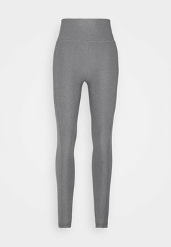 Puma - STUDIO YOGINI LUXE HIGH WAIST - Tights - medium gray heather