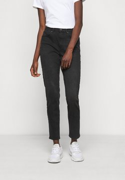 ONLY Tall - ONLVENEDA LIFE MOM - Jeans Slim Fit - black