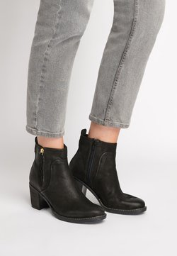 Next - GREY FOREVER COMFORT® ZIP DETAIL ANKLE BOOTS - Stiefelette - black