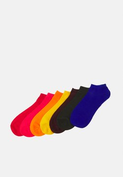 Jack & Jones - JACBASIC SHORT SOCK 7 PACK - Socken - surf the web/diva pink/persimmon
