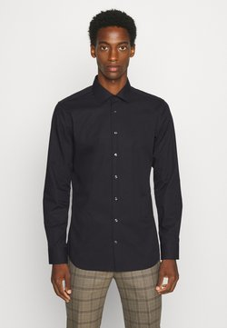 Seidensticker - MODERN KENT X SLIM - Camicia elegante - black