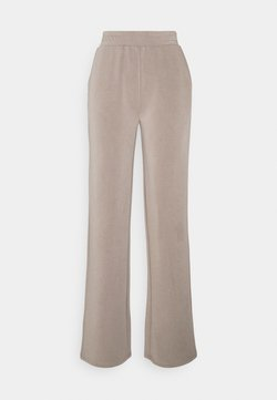 Pieces - PCLISE WIDE PANT LOUNGE - Jogginghose - cinder