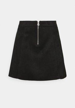 ONLY - ONLLINUS - Minijupe - black