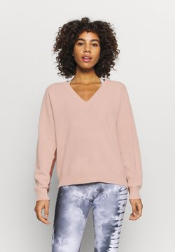 Sweaty Betty - RECLINE  - Jersey de punto - misty rose pink