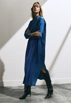 Massimo Dutti - Robe chemise - dark blue