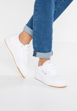 Reebok Classic - CLUB C 85 - Baskets basses - white/light grey