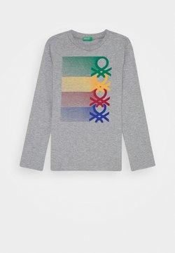 Benetton - BASIC BOY - Langarmshirt - grey