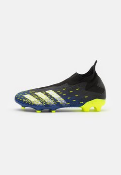 adidas Performance - PREDATOR FREAK .3 FG - Moulded stud football boots - core black/footwear white/solar yellow