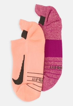 Nike Performance - UNISEX 2 PACK - Calcetines tobilleros - multicolor