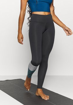 Hey Honey - LEGGINGS HAWAII SURF STYLE  - Medias - billiard