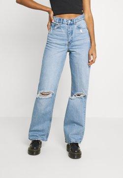 Dr.Denim - ECHO - Jeans straight leg - blue jay ripped