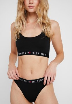 Tommy Hilfiger - ORIGINAL THONG - String - black