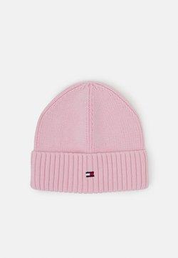 Tommy Hilfiger - FLAG BEANIE - Mütze - pink