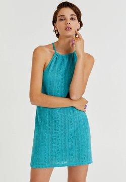 PULL&BEAR - Cocktailkleid/festliches Kleid - turquoise