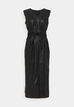 DEPECHE - LONG DRESS - Juhlamekko - black nero