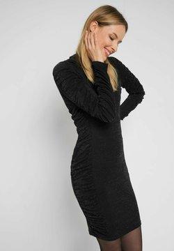 ORSAY - MIT METALLIC-GARN - Cocktailkleid/festliches Kleid - schwarz