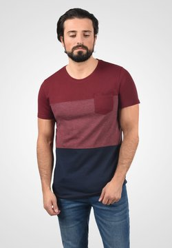 Solid - T-Shirt print - wine red