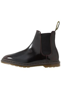 Dr. Martens - GRAEME II 8 EYE FORMAL BOOT - Classic ankle boots - cherry red/arcadia