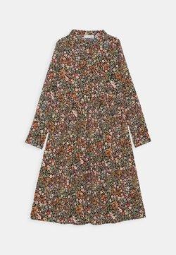 Name it - NKFVINAYA LONG DRESS - Blusenkleid - vibrant orange