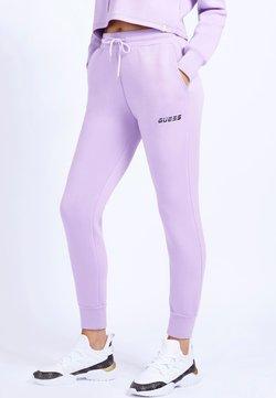 Guess - LONG PANT - Pantalon de survêtement - lila