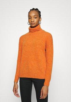 Moss Copenhagen - FEMME ROLL NECK PULLOVER - Trui - apricot orange