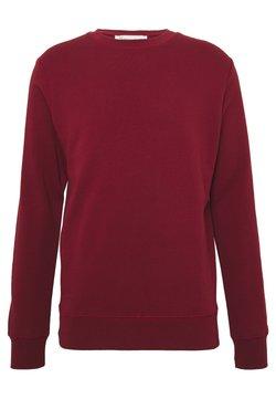 BY GARMENT MAKERS - UNISEX THE ORGANIC SWEATSHIRT - Sweater - merlot