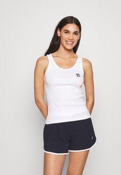 Fila - WOMAN TOP AND PANT - Pyjama - navy/white
