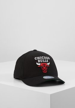 Mitchell & Ness - NBA CHICAGO BULLS TEAM LOGO HIGH CROWN 6 PANEL 110 SNAPBACK - Lippalakki - black