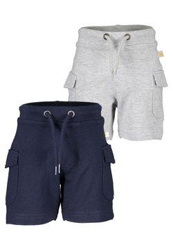 Blue Seven - MINI KN WIRKSHORTS - 2ER PACK - Shorts -  nachtblau nebel