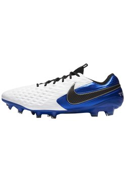 Nike Performance - TIEMPO LEGEND 8 ELITE FG - Fotbollsskor fasta dobbar - white/hyper royal/metallic silver/black
