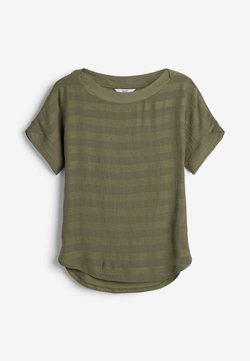 Next - T-Shirt print - khaki