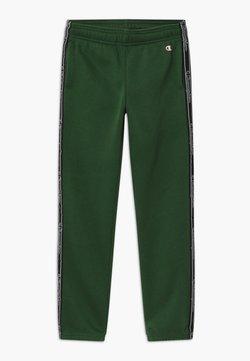 Champion - AMERICAN CLASSICS TAPE - Spodnie treningowe - dark green