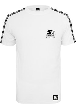 Starter - LOGO TAPED - T-shirt print - white
