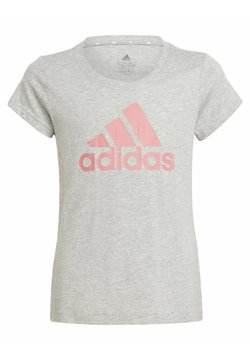 adidas Performance - G BL T - T-Shirt print - grey