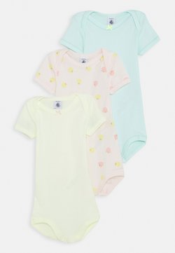 Petit Bateau - BABY 3 PACK - Body - pink/white/green