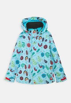 Burton - ELODIE FLOWER POWER - Kurtka snowboardowa - light blue/multicoloured