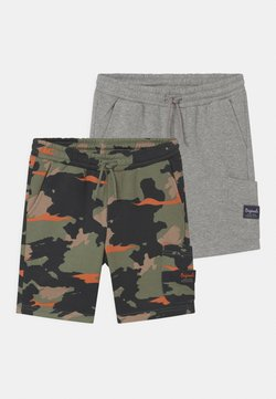 Jack & Jones Junior - JJISTONE 2 PACK - Shortsit - light grey melange