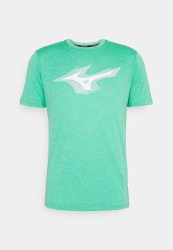Mizuno - CORE TEE - T-Shirt print - mint leaf