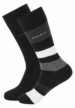 BOSS - 2PACK - Socken - black