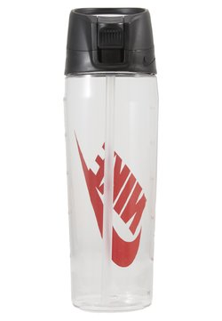 Nike Performance - HYPERCHARGE STRAW BOTTLE 24 OZ/709ML - Drikkeflaske - clear/anthracite/university red