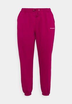 Missguided Plus - Pantalon de survêtement - raspberry