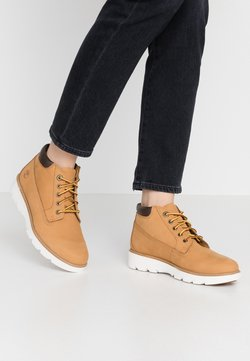 Timberland - KEELEY FIELD NELLIE - Höga sneakers - wheat