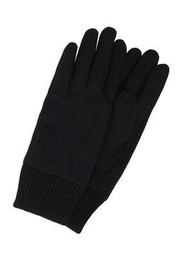 KARL LAGERFELD - IKONIK PATCH GLOVE - Fingerhandschuh - black