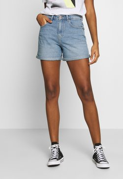 ONLY - ONLPHINE LIFE - Shorts di jeans - light blue denim