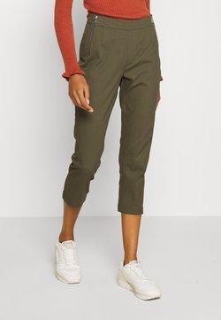 comma - Spodnie materiałowe - khaki