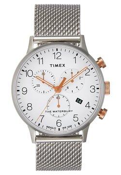 Timex - WATERBURY CLASSIC CHRONOGRAPH - Montre à aiguilles - silver-coloured/white