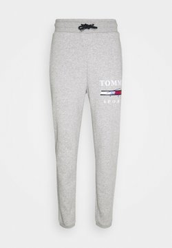 Tommy Sport - GRAPHIC PANT CUFFED - Jogginghose - grey